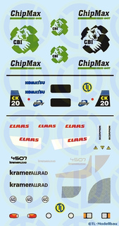ChipMax, Claas u.a. 1:87