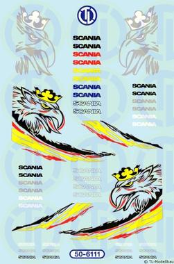 Scania-FH Dekore 1:50