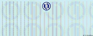 Lkw-Reflexstreifen - Silber 1:50