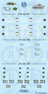 Schwere Panzer-Abteilung 1:72