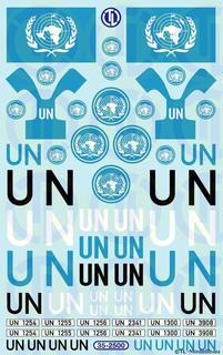 UN Decalbogen 1:35