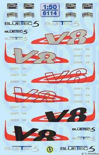 6115-Decals Volvo FH-Dekor 1:50