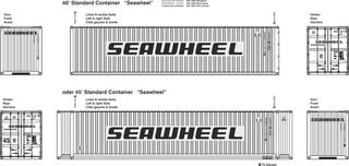 Seawheel Beschriftungen 1:87