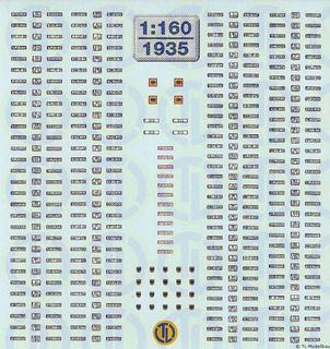 Euro Kfz-Kennzeichen »Deutschland« 1:160