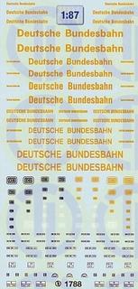 Deutsche Bundesbahn - Straßenfahrzeuge 1:87