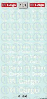 DB-Cargo Beschriftungen 1:87