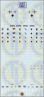 WK II - Beschriftungen für Panzerzüge 1:87