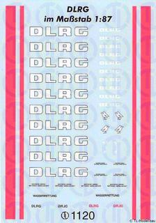 DLRG Decalbogen 1:87