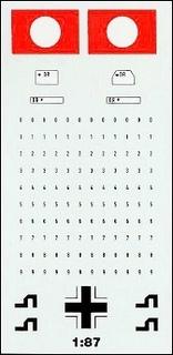 Kfz-Kennzeichen »Deutsches Reich« 1:87