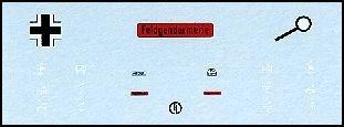 Decalbogen »Feld Gendarmerie« 1:87