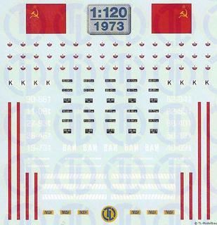 UdSSR-Westruppen 1:120