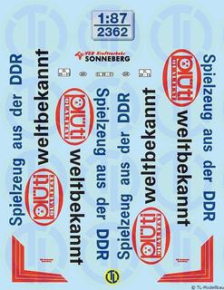 Spielzeug aus der DDR 1:87
