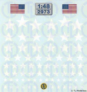 U.S. Army - Weisse Sterne 1:48