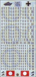 Wehrmacht »Turmnummern für...
