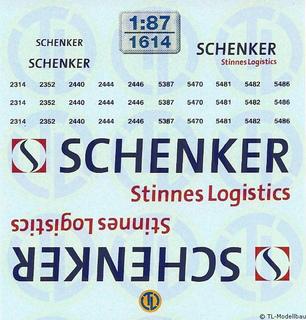 Schenker Stinnes Logistics 1:87