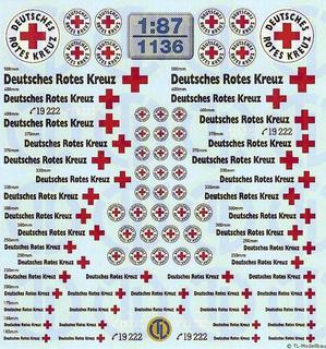 DRK - Deutsches Rotes Kreuz 1:87