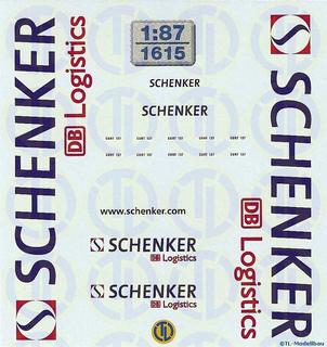 Schenker DB Logistics 1:87