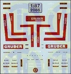 Gruber Logistics - Italien 1:87