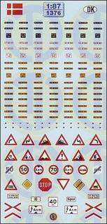 Kfz-Kennzeichen »Dänemark« 1:87