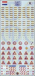 Kfz-Kennzeichen »Niederlande« 1:87