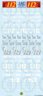 Notrufnummern 112 - 1:87