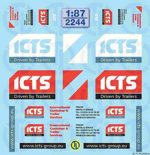 ICTS Beschriftungen 1:87