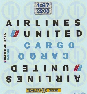 United Airlines Cargo 1:87
