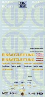 Berliner Feuerwehr 1:87