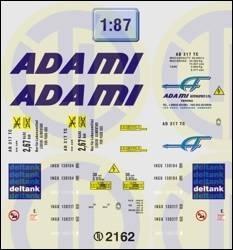Adami und Deltank 1:87