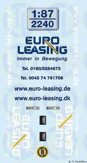 Euro-Leasing Beschriftungen 1:87