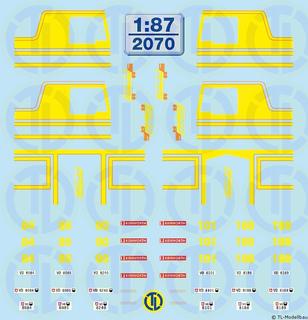 Friderici K100 FH Dekore 1:87